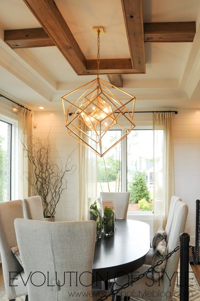 2018 Homearama Day Six Gold Chandeliers Dining Room Chandelier In Living Room Dining Room Chandelier Modern