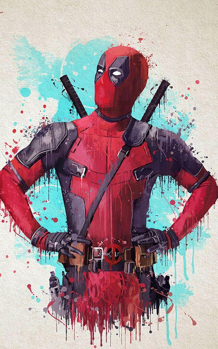 Deadpool Wallpaper HD in 2020 Deadpool artwork, Deadpool