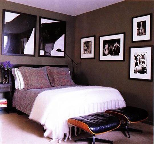 Bachelor Pad Bedroom Art Taupe Black And White Bedroom Bedroom Storage Bench Diy French Bedroom Chairs: Roundup: Bachelor Pad Bedroom Decor