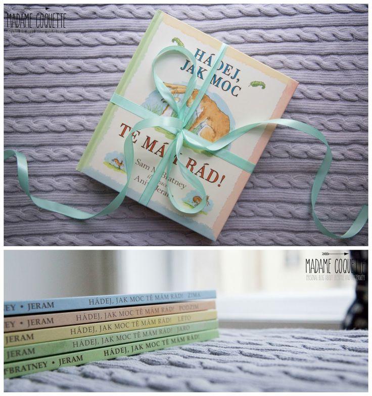 Na tuhle sérii pěti knížek s názvem Hádej, jak moc tě mám rád (autor: Sam McBratney, ilustrace: Anita Jeram) mám zálusk už dlouho. Te...