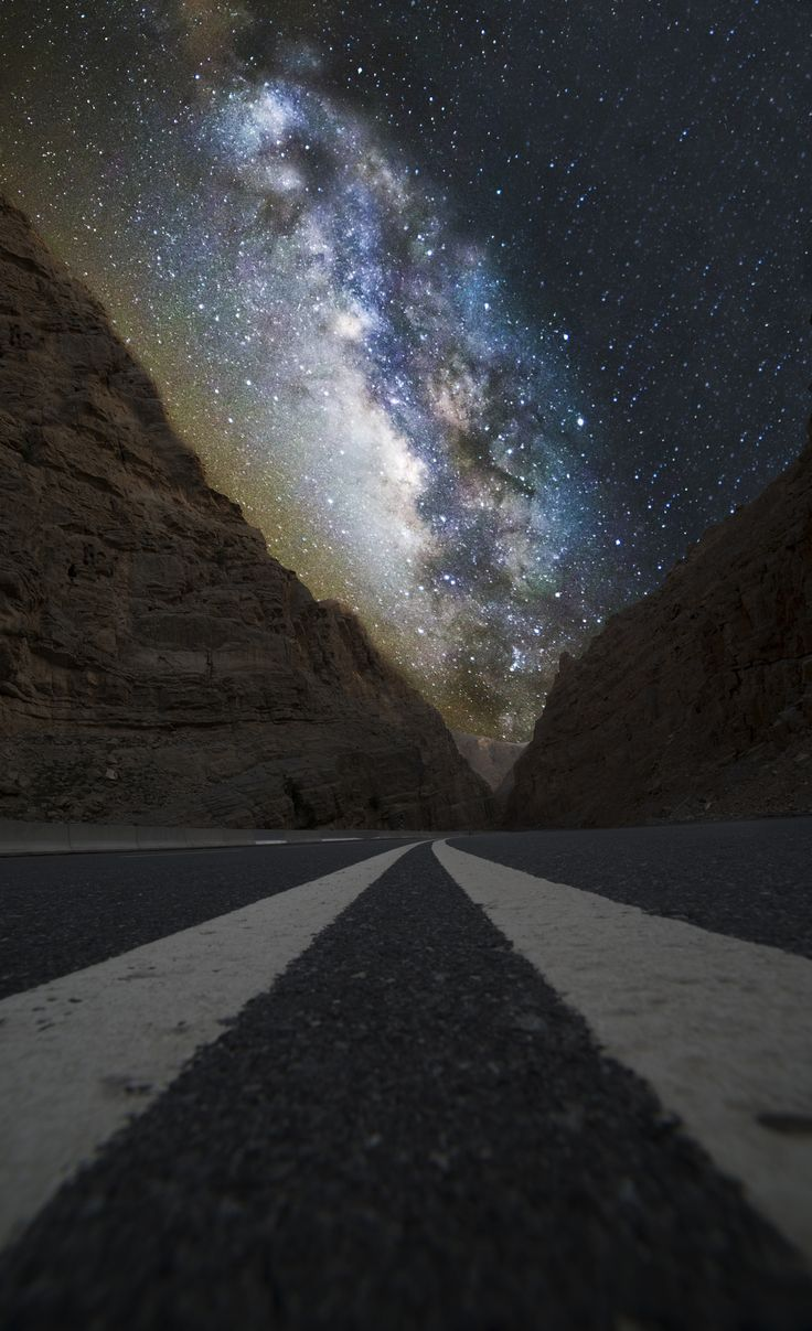 Touching the Magic of breathless Milky-Way, by A. Hajras... #sky #mountains…