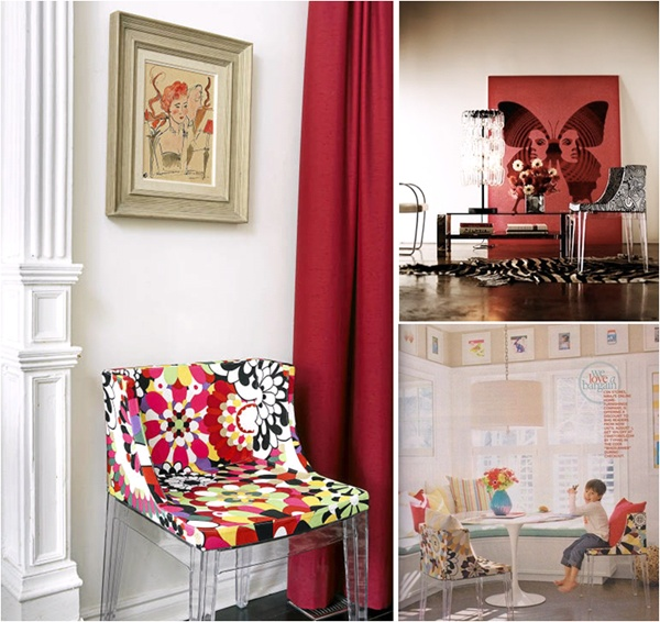 Missoni Home Rocking Chair: Mademoiselle #Chair By #Missoni For #Kartell
