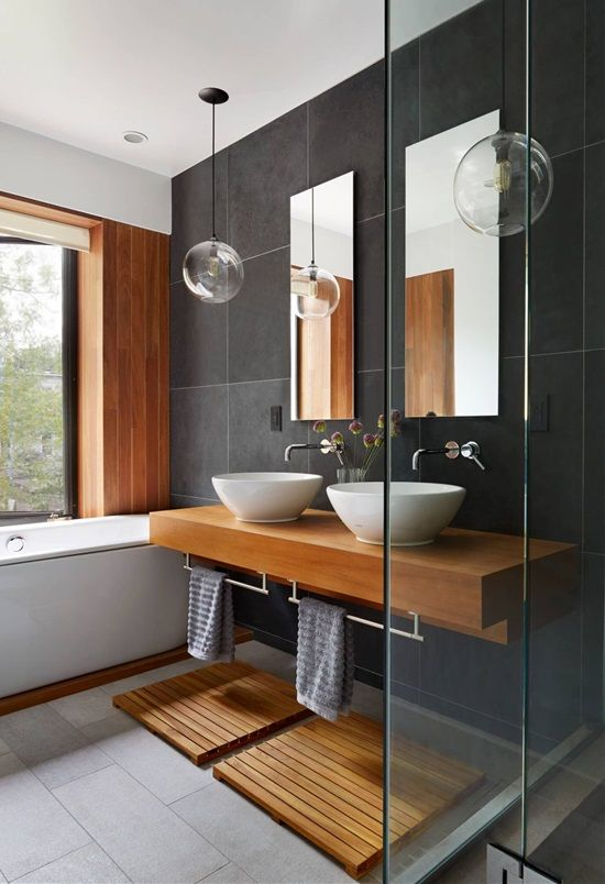 Best Wooden Bathroom Ideas On Pinterest Hotel Bathroom