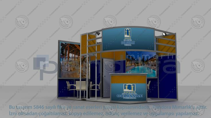 Colosae Hotel Exhibition Stand Design