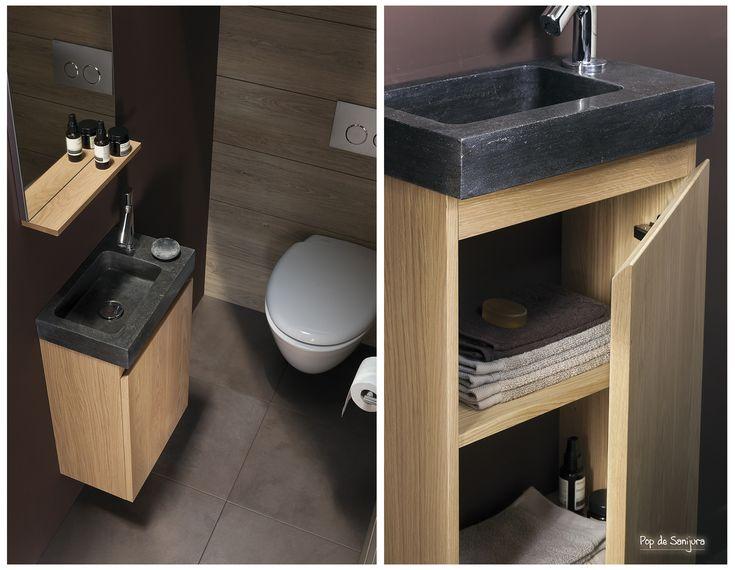 18 best Salle de Bain Sanijura images on Pinterest Furniture - meuble salle de bain pierre naturelle