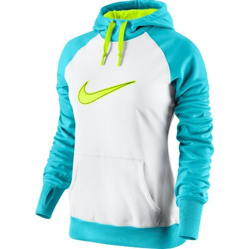 nike women's swoosh out all time hoodie with images