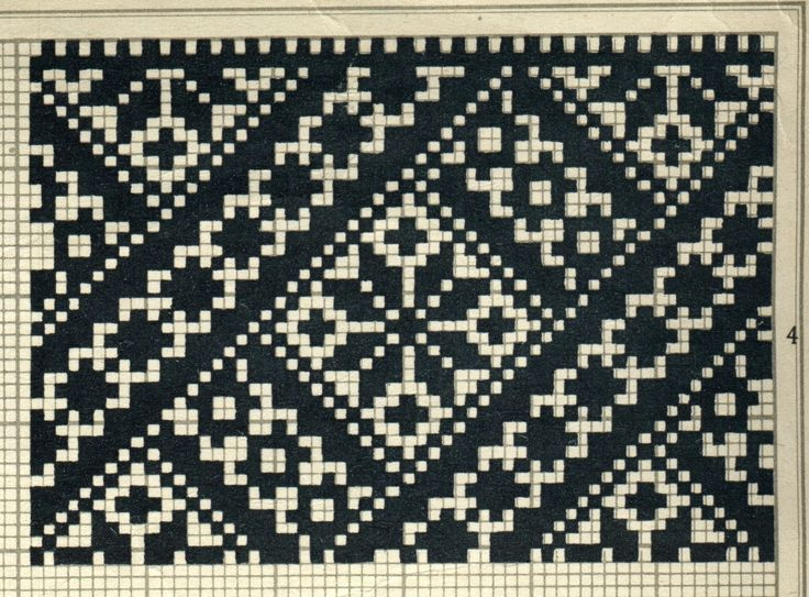 1406 best Charts for fair isle (or cross stitch) images on ...