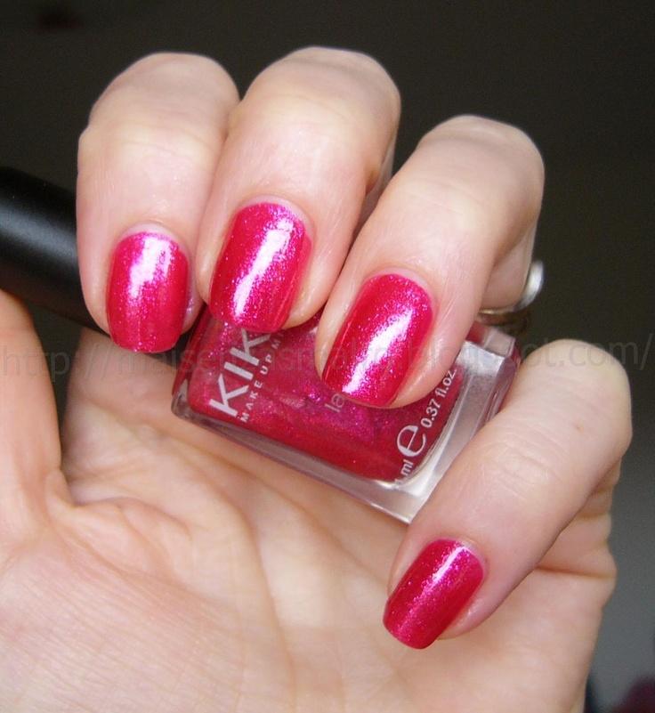 Kiko - nail polish - 277 - Blueberry Glitter    http://www.kikocosmetics.com/eshop/de/home
