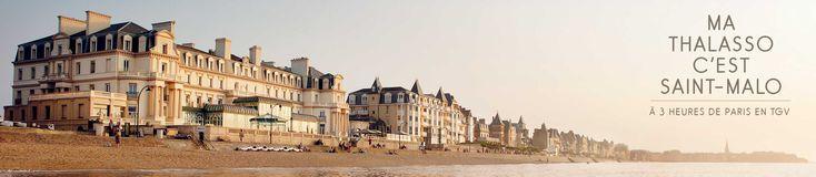 7 - Les Thermes Marins : la thalasso à Saint-Malo : un Week-end pour se ressourcer en jeune famille : https://reservation.thalassotherapie.com/hotel-le-jersey/escapade-maman-bebe?_ga=1.65664046.1895859432.1475600004#calendar