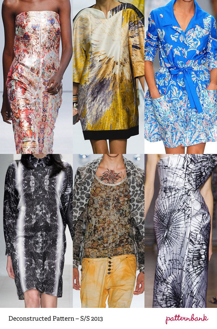 Catwalk Print Trends   Spring/Summer 2013   Part 1 catwalks