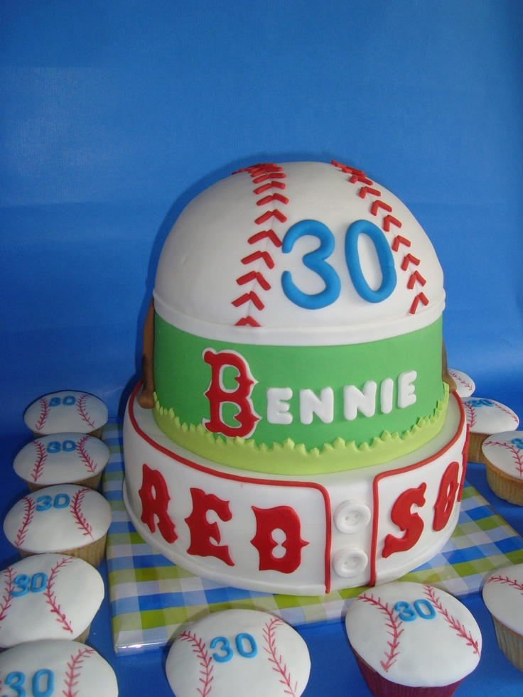 Red Sox Cake Images : Mas de 25 ideas increibles sobre Torta sox roja en ...