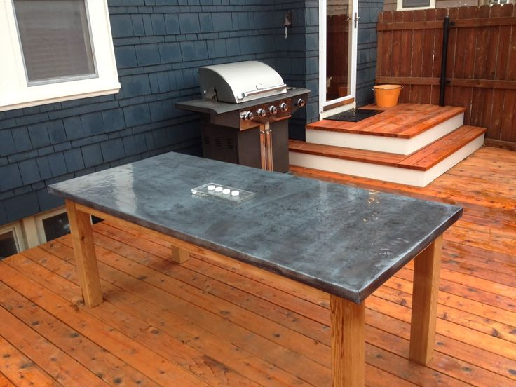 Table Top Ideas best 25+ zinc table ideas only on pinterest | concrete table top