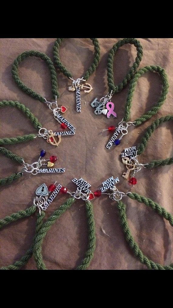 BootBandsbyBri  on Etsy   For everyone with Marine Corps spouses or loved ones, these are super cute! Plus I know the girl who makes them :)