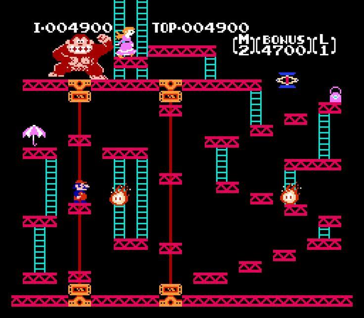 Donkey Kong - Famicom - Nintendo
