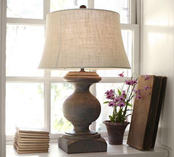 Pottery Barn Ambient Lamp: Interior Decorating