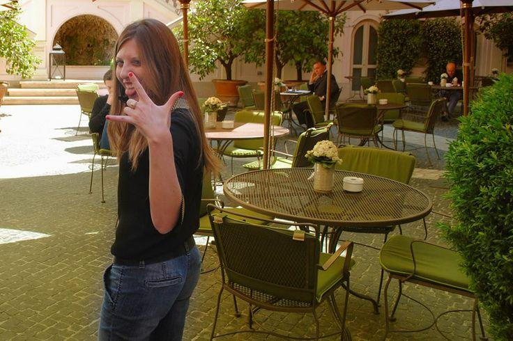 Backstage Luxury files magazine Hotel De Russie Roma #luxuryfilesmagazine, #backstage, #roma ph. Cinzia Cilla Carcaterra