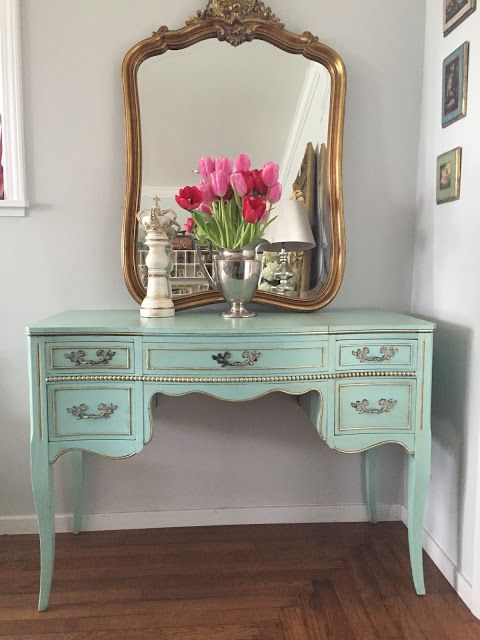 French Vanity: D.D.'s Cottage and Design: