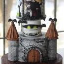 Hotel Transylvania Cake and Cake pops
