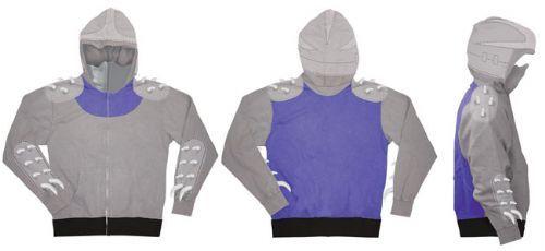$58 (?!?!) TMNT Teenage Mutant Ninja Turtles Shredder Zip-Up Costume -Shredder Hoodie