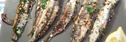 sardines à la plancha