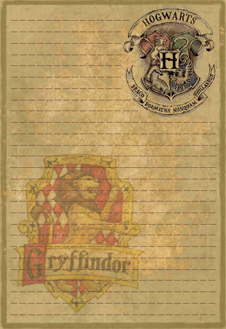 Gryffindor Stationery Option1 by Sinome-Rae.deviantart.com on @deviantART