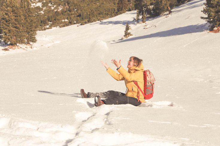 3 zinnen travel lucia del pasqua mountain snow dolomites patagonia jacket