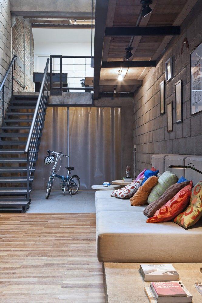 Loft Vasco / Urbana Arquitetura.