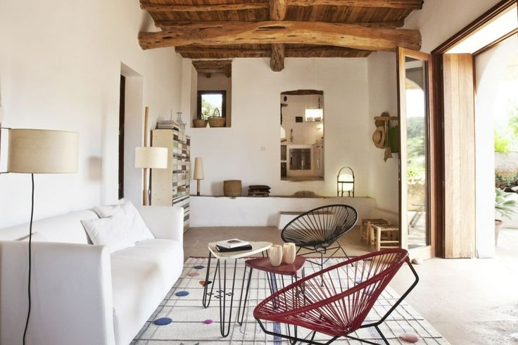 Living. Authentic reformed finca in Cala Salada area. Ref. 456102, by Kelosa | Ibiza Selected Properties