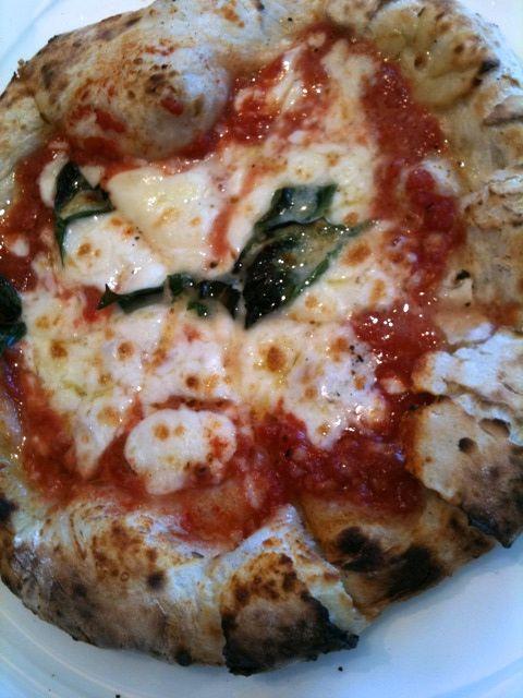 ピッザここのは生地もおいしい