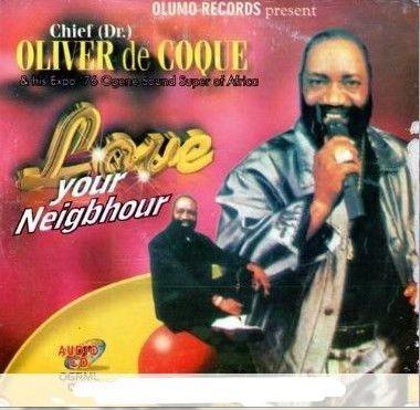 Oliver De Coque - Love Your Neighbour - CD