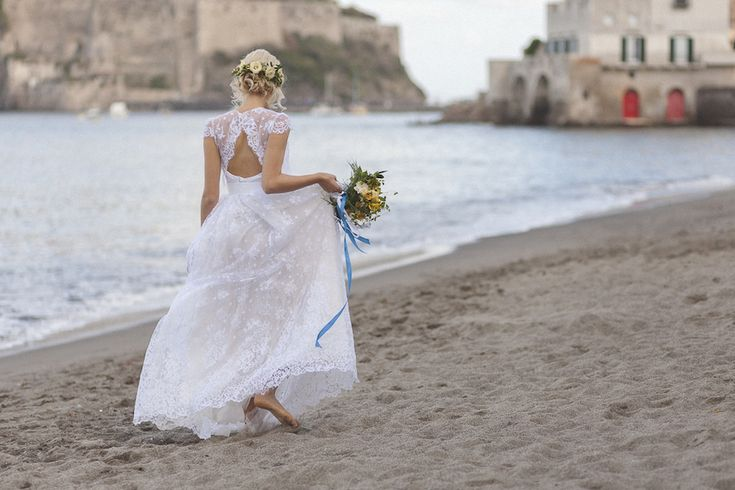 Profumo di limoni per un matrimonio a Ischia