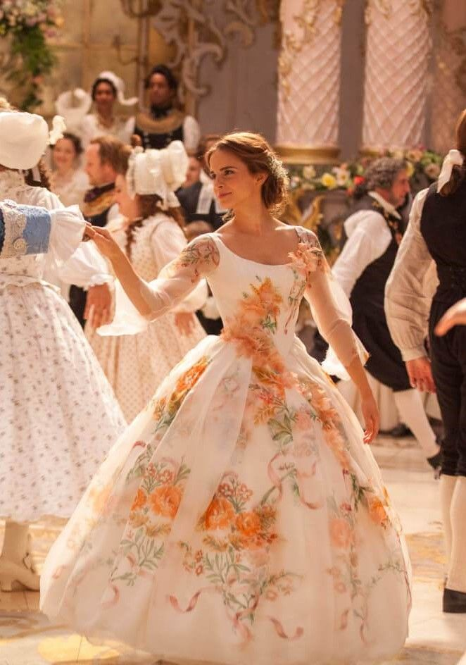 I Want A Dress That Looks Like This To Be The Casual Dress That I Wear For My Disney Wedding Dresses Belle Wedding Dresses Beauty And The Beast Wedding Dresses