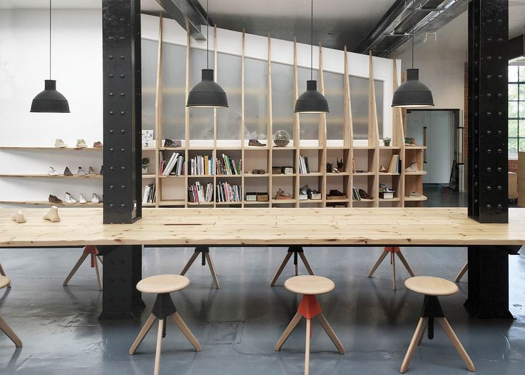 ARRO Studio creates Clarks Originals HQ in old warehouse.