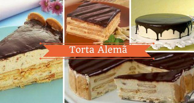 Torta alemã é um dos doces preferidos de muitas pessoas. Muitas pessoas evitam fazer esta torta porque pensam que é muito difícil de fazer. A verdade é que