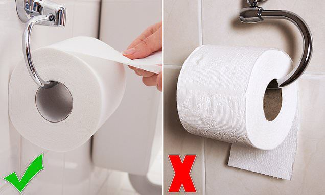 Heated Debate Sparked Over The Correct Way To Hang Toilet Paper Toilet Paper Toilet Toilet Paper Holder