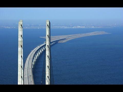 Mega Construções - Ponte mergulha no oceano para conectar Dinamarca e Su...