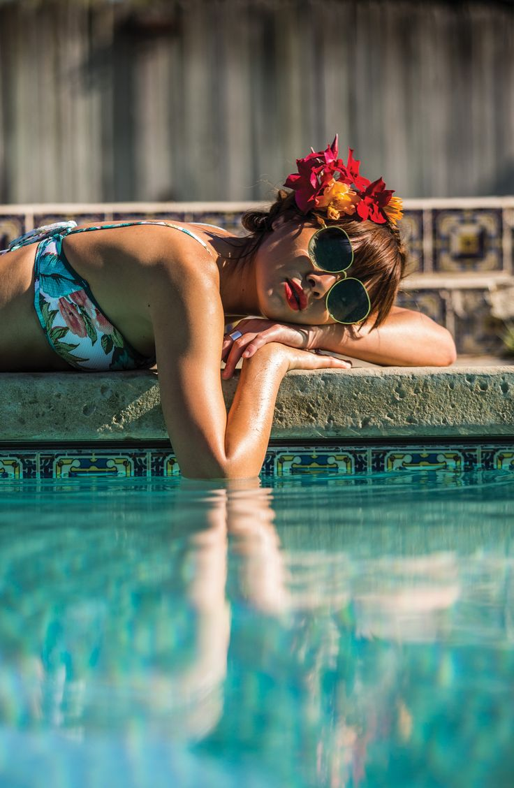 x Natalie Off Duty Viva Bikini Top