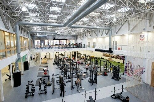 Loughborough University gym