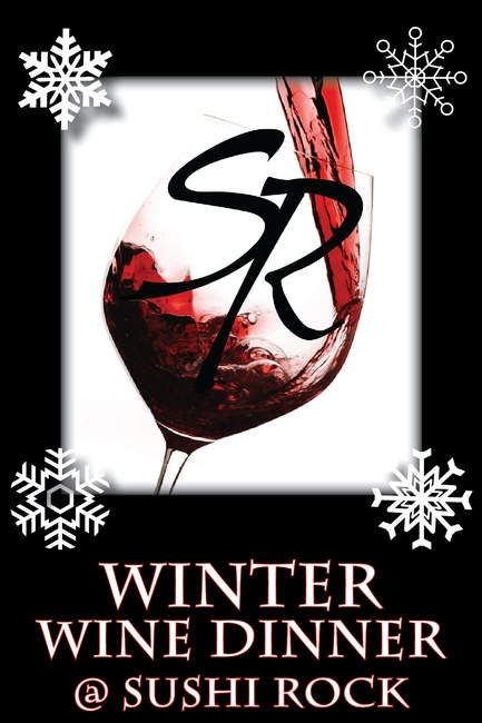 Winter Wine Tasting at Sushi Rock