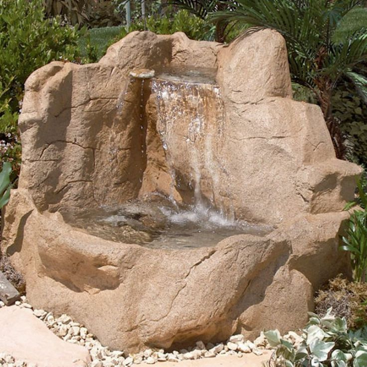 summit falls water outdoor fountain