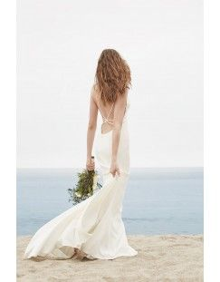 Willowby Baikal Wedding Dresses With Straps Rental Wedding Dresses Beach Wedding Dress