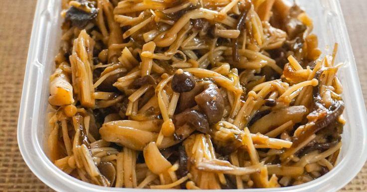 レンジで作りおき☆塩こんぶキノコ by 草原うさぎ 【クックパッド】 簡単おいしいみんなのレシピが283万品