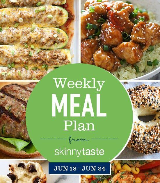 Skinnytaste Meal Plan (June 18-June 24)