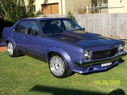 Holden Torana in Royal Plum