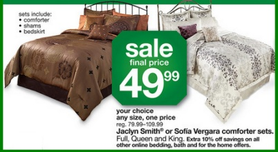 Saving 4 A Sunny Day: Kmart Comforter Sets Only $49.99- Today Only