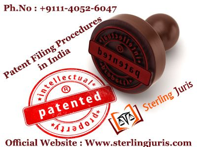 The patent filing procedures in India call for many legal documents to grant a patent, which confuses the applicant. Sterling Juris, a legal firm, offers services related to patent filing. The company assists clients with the patent filing procedures in India. Our experts provide clients with an end-to-end solution, so they get their product patented easily.   Contact No : 9111-4052-6047