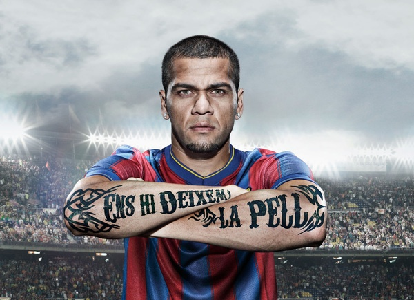 Awesome tattoo-inspired campaign for FC Barcelona
