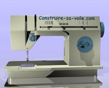- La machine à coudre et ses réglages - - - Construire-sa-voile.com -