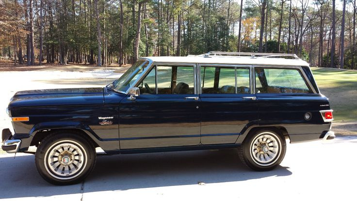 A beautiful 1983 Wagoneer Limited. Note the wheels on the '83