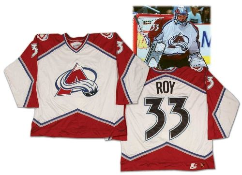 Patrick Roy 1996-97 Colorado Avalanche Worn Jersey